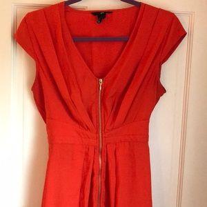 Great condition. Orange  H&M dress
